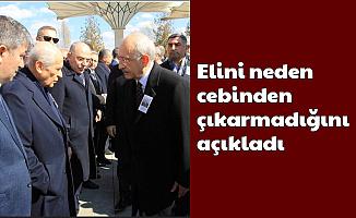 Bahçeli, Kılıçdaroğlu'nun Elini Neden Sıkmadığını Açıkladı