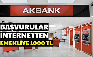 Başvurular İnternetten: Emekliye 1000 TL Promosyon