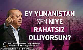Cumhurbaşkanı Recep Tayyip Erdoğan'dan Yunanistan'a Çağrı: Kapılarını Aç , Gitsinler!