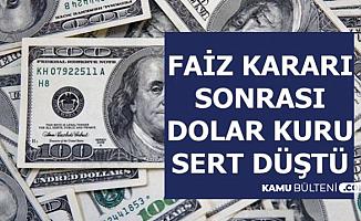 Dolar ve Euro Kuru Sert Düştü (İşte Güncel Döviz Kuru ve Altın Fiyatları)
