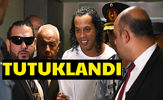Flaş: Ronaldinho Tutuklandı