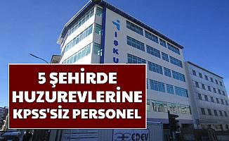 Huzurevlerine 5 Şehirde Sınavsız Personel Alımı-İşte İŞKUR Başvuru Sayfası e sube