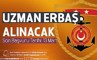 İçişleri Bakanlığı Sahil Güvenlik Komutanlığı Uzman Erbaş Alımı Başvuruları 13 Mart'ta Son Bulacak