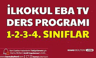 İlkokul EBA Tv 30 Mart 2020 Pazartesi Ders Programı Belli Oldu-1. 2. 3. ve 4. Sınıf Ders Saatleri
