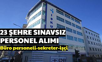 İŞKUR, 23 Şehre Personel Alımı Başvurusu İnternetten Başladı