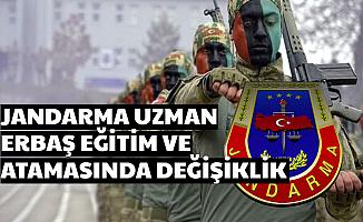 Jandarma Asayiş ve Komando Uzman Erbaş Temin ve Atama Sürecinde Değişiklik 2020