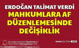 Mahkumlara Af Yasasında Son Dakika Gelişmesi: Erdoğan Açıkladı ve Talimat Verdi