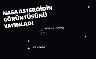 Son Dakika NASA'dan Açıklama: Asteroidin Görüntüsü Yayımlandı 2020