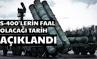 S-400'ler Ne Zaman Faal Olacak? Cumhurbaşkanı Erdoğan Tarih Verdi