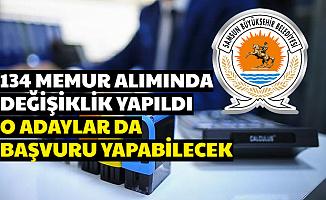 Samsun Büyükşehir, Memur Alımı İlanını Değiştirdi: O Adaylar da Başvuru Yapabilecek