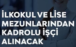 Sinop Üniversitesine İŞKURÜzerinden En Az İlkokul ve Ortaöğretim Mezunlarından Kadrolu İşçi Alımı Yapılacak