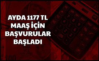 1177 TL Maaş İçin Başvurular Başladı 2020