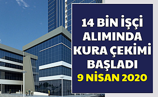 14 Bin İşçi Alımı Kura Çekimi Başladı 9 Nisan 2020 (Sağlık Bakanlığı iscisonuc İŞKUR)