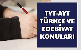 2020 TYT ve AYT Türkçe Edebiyat Konuları Açıklandı-İşte Soru Çıkacak Üniteler