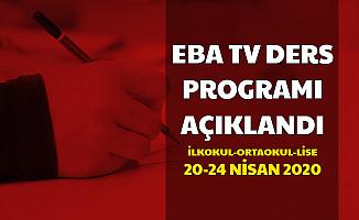 20-21-22-24 Nisan EBA Tv Ders Programı Açıklandı (TRT Eba Frekansı - e Okul ile EBA Girişi)