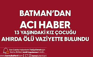 Batman'da Yürek Yakan Olay! 13 Yaşındaki Çocuk Ahırda Asılı Vaziyette Bulundu