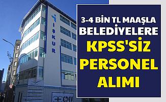 Bu İllerde Yaşayanlar Dikkat: KPSS'siz 3-4 Bin TL Maaşla Memur Personel Alımı Başladı