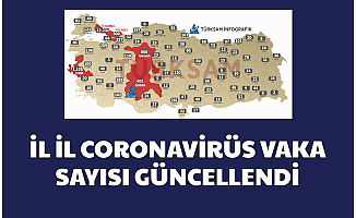 COVID 19 İllere Göre Vaka Sayısı Güncellendi-İşte 81 Şehirde Son Durum 4 Nisan 2020