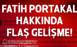 Cumhurbaşkanı Erdoğan'ın Ardından BDDK da Fatih Portakal Hakkında Suç Duyurusunda Bulundu