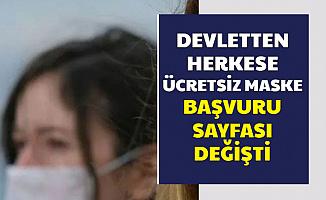 Epttavm Çöktü : Bedava Maske Başvuru Sayfası Değişti-İşte Yeni Başvuru Sayfası E Devlet