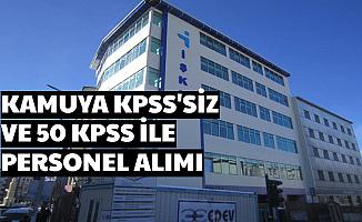 İŞKUR'dan Kamuya Personel Alımı KPSS'siz ve 50 KPSS ile