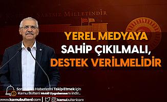 İYİ Parti Konya Milletvekili Fahrettin Yokuş: Yerel Medyaya Sahip Çıkılmalı, Destek Verilmelidir