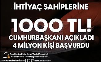 Üçüncü Faz Devlet Desteğine 4 Milyon Başvuru Yapıldı! İhtiyaç Sahibi Olan Herkese 1000 TL