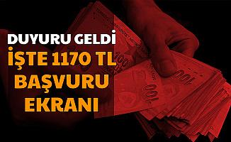 1170 TL Başvurusu İŞKUR'da-İşte Başvuru Linki