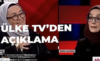 """""""15 Temmuz Kursağımızda Kaldı"""" Diyen Sevda Noyan ile İlgili Ülke TV ve Kanal 7'den Açıklama"""