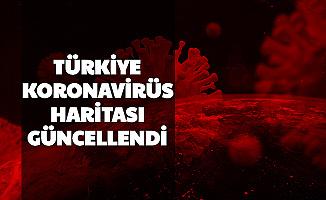 81 Şehrin Koronavirüs Yoğunluk Haritası Güncellendi