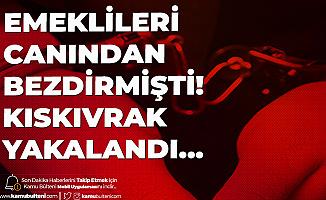 Ankara'da Emeklileri Canından Bezdiren Hırsız Yakalandı!
