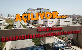 Başakşehir Çam ve Sakura Şehir Hastanesi Açılıyor: Erdoğan Açıklama Yapıyor