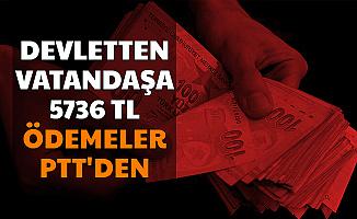 Devletten Vatandaşlara 24 Ay Boyunca Toplam 5736 TL: Ödemeler PTT'den (Mama ve Bez Desteği 2020)