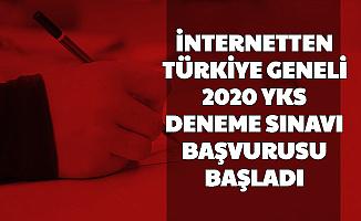 İnternetten Yapılacak: Türkiye Geneli YKS Deneme Sınavı Başvurusu Başladı