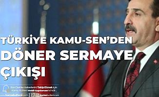 Türkiye Kamu-Sen Genel Başkanı Kahveci: Üniversite Hastanelerinde Döner Sermaye Ödemeleri Hakkaniyetten Uzak Olmamalı