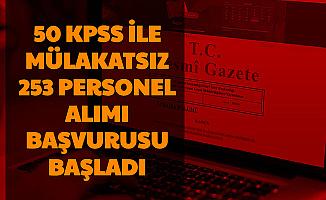 KPSS 50 Puan Şartı ile Mülakatsız 253 Sağlık Personeli Alımı Başvurusu Başladı-Pamukkale Üniversitesi