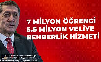 Milli Eğitim Bakanı Selçuk: 7 Milyon Öğrenci ve 5.5 Milyon Veliye Rehberlik Hizmeti Verildi