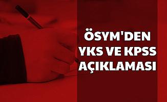 ÖSYM'den KPSS Tarihi ve YKS Duyurusu