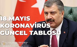 Sağlık Bakanı Fahrettin Koca'dan Son Dakika Açıklaması: 18 Mayıs Türkiye Koronavirüs Güncel Tablosu Yayımlandı