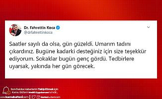 Sağlık Bakanı Koca'dan Açıklama: Tedbirlere Uyarsak, Yakında Her Gün Çıkabilecekler