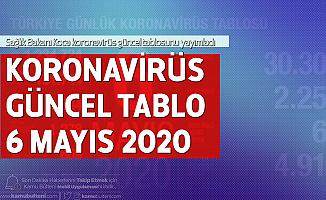 Son Dakika: 6 Mayıs Koronavirüs Güncel Tablosu Yayımlandı