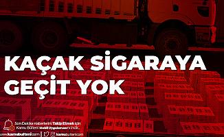 Van'da Kaçak Sigara Operasyonu! 20 Bin Paket Yakalandı