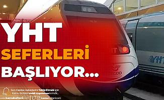 Yüksek Hızlı Tren Seferleri 'Ankara-İstanbul Seferi' ile Başlıyor