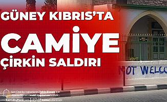 AK Parti Sözcüsü Ömer Çelik'ten Kıbrıs'taki Camiye Çirkin Saldırıya Tepki Geldi