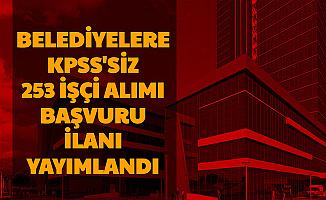 Belediye İşçisi Alımı İlanları Yayımlandı: 21 Şehirde Başvurular Başladı