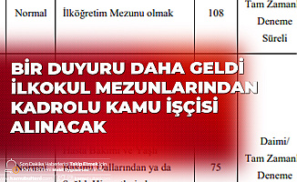 Eskişehir Osmangazi Üniversitesi'ne 215 Kadrolu Kamu İşçisi Alımı Yapılacak