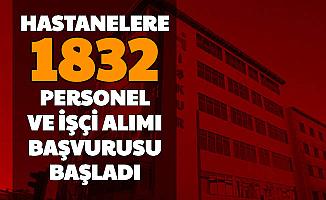 Hastanelere Sınavsız 1832 İşçi ve Personel Alımı Başvurusu Başladı-İşte 4 Adımda İŞKUR'dan Başvuru