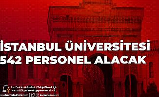 İstanbul Üniversitesi 542 Personel Alımı Yapacak