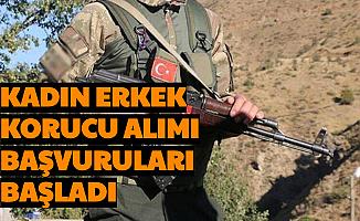 Jandarma Kadın Erkek Korucu Alımı Başvuruları Başladı