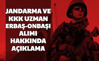 Jandarma ve KKK Uzman Erbaş Onbaşı Alımı Açıklama Detayı 2020